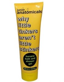 Anatomicals Containing Banana For Children Shower Gel 300ml