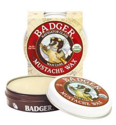 Badger Mustache Wax 21gr