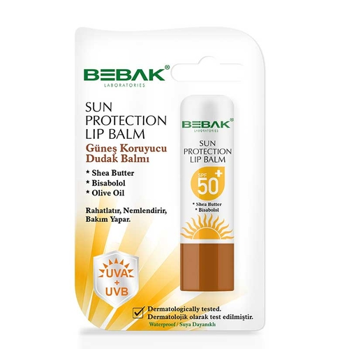 Bebak Sun Protection Lip Balm Spf 50 4.5 gr