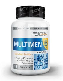 Bigjoy Multimen 50+ Mens Multivitamin 50 Bitkisel Kapsül