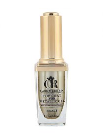 Carlottaroux Top Coat For Metallic Gel 15ml Kalıcı Oje