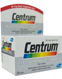 Centrum Advance 50+ 30 Film Tablet