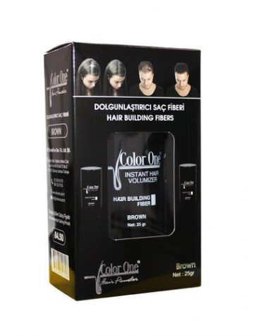 Color One Hair Building Fibers 25 gr Brown