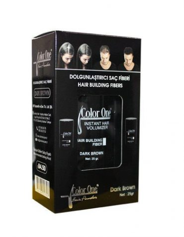 Color One Hair Building Fibers 25 gr Light Brown