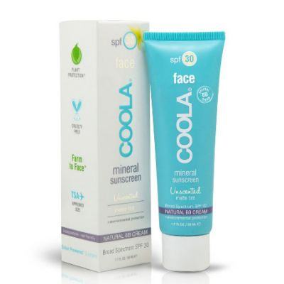 Coola Mineral Sunscreen Unscented Face SPF 30 Mineral BB Cream 50 ml
