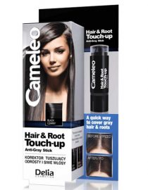 Delia Cameleo Hair & Root Touch Up Anti Gray Stick Black