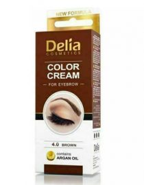 Delia Cream For Eyebrows 4.0 Brown With Argan Oil