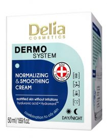 Delia Dermo System Normalizing & Smoothing Cream 50 ml