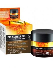 Dr Scheller Thistle Oil & Chia Seeds Intensive Restructuring Care Night 50 ml