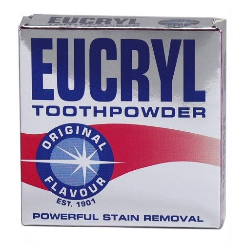 Eucryl Toothpowder Original Powerful Stain Removal 50 GR