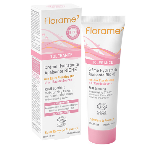 Florame Tolerance Rich Soothing Moisturizing Cream 50 ml