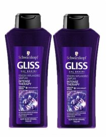 Gliss Intense Theraphy Shampoo 550 ml+550 ml