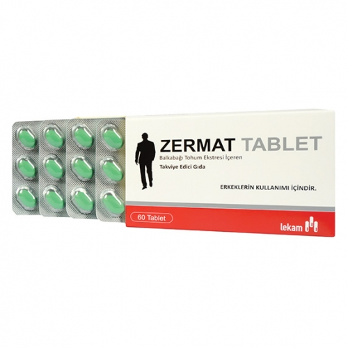 Interpharm Zermat Tablet Takviye Edici Gıda 60 Tablet