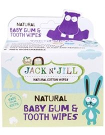 Jack And Jill Natural Baby Gum&Tooth Wipes 25Adet