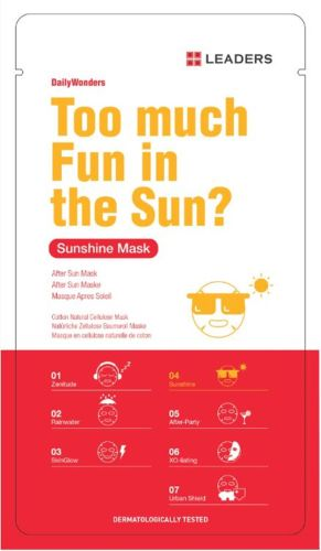 Leaders Daily Wonders Too Much Fun In The Sun Mask