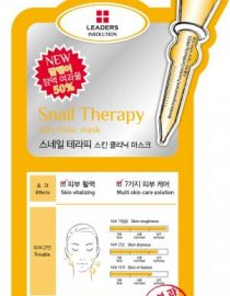 Leaders Insolution Snail Therapy Skin Clinic Mask