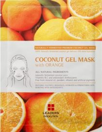 Leaders Superfood Coconut Gel Mask with Orange