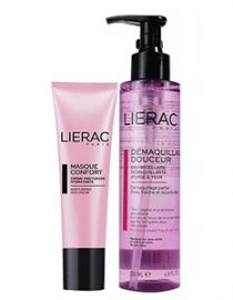 Lierac Masque Comfort Mask 50ml+Demaquillant Douceur Cleansing Water 200ml HEDİYE