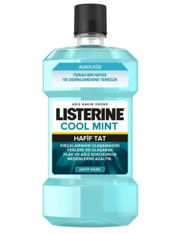 Listerine Cool Mint Hafif Tat 250 ml