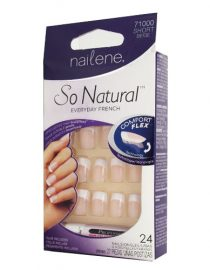 Nailene So Natural Everyday French Short Beige 71000