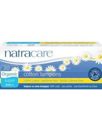 Natracare Cotton Tampons - Super 20 Adet