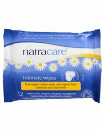 Natracare Intimate Wipes 12 Adet