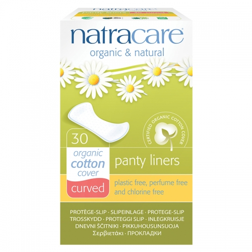 Natracare Organic Cotton Cover Curved - 30Adet