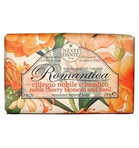 Nesti Dante Romantica Noble Cherry Basil Soap 250gr