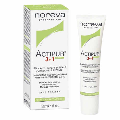 Noreva Actipur Intensive Anti-Imperfection Care 3in1 30ml