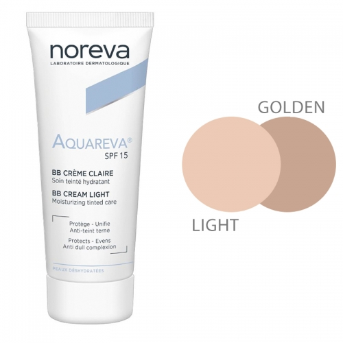 Noreva Aquareva SPF 15 BB Krem 40 ml Light