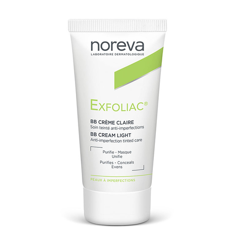 Noreva Exfoliac Tinted BB Cream Light 30 ml - Açık Ton
