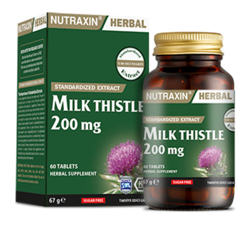 Nutraxin Herbal Milk Thistle 200mg 60 Kapsül