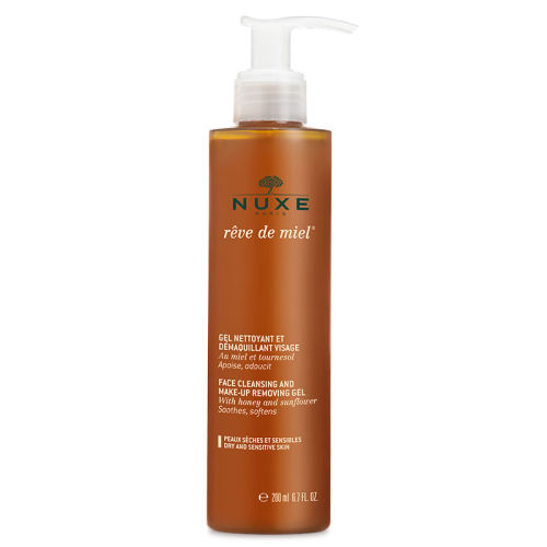 Nuxe Reve De Miel Face Cleansing And Make Up Removing Gel 200ml