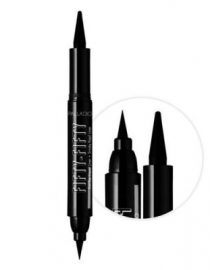 Palladio Fifty-Fifty Cat-Eye Liquid Liner+Smoky Kajal Liner