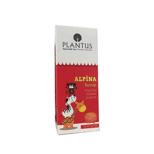 Plantus Alpina Şurup 100 ml