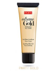 Pupa Extreme Gold Sparkling All Over Face and Body 25ml