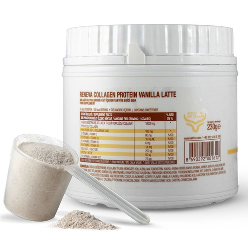 Reneva Collagen Protein Vanilla Latte 230 gr - Thumbnail