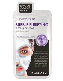 Skin Republic Bubble Purifying + Charcoal Face Mask Sheet 25 ml