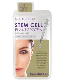 Skin Republic Stem Cell Plant Protein Face Mask Sheet 25 ml