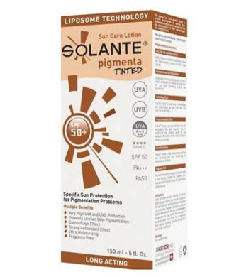 Solante Pigmenta Tinted Lotion SPF 50+ 150 ml