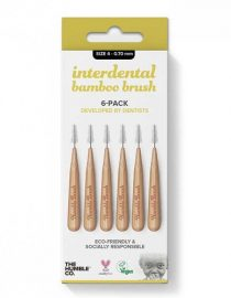 The Humble Co Interdental Bamboo Brush 4 -Pack 0 - 0.70 mm
