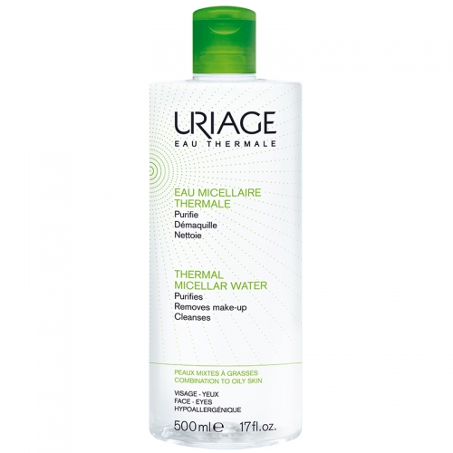 Uriage Thermal Miceller Water PMG 500ml - Karma ve Yağlı Ciltler