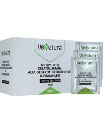Venatura Methyl Plus Kreatin-Betain-Alfa Gliserofosfokolin ve B Vitaminleri 30 Saşe