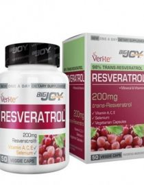 Bigjoy Vitamins Resveratrol 50 Bitkisel Kapsül