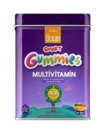Orzax Ocean Smart Gumies Multivitamin Meyve Sulu Jel 64 Adet