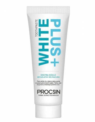 Procsin White Plus Ekstra Güçlü Beyazlatıcı Diş Macunu 80 ml