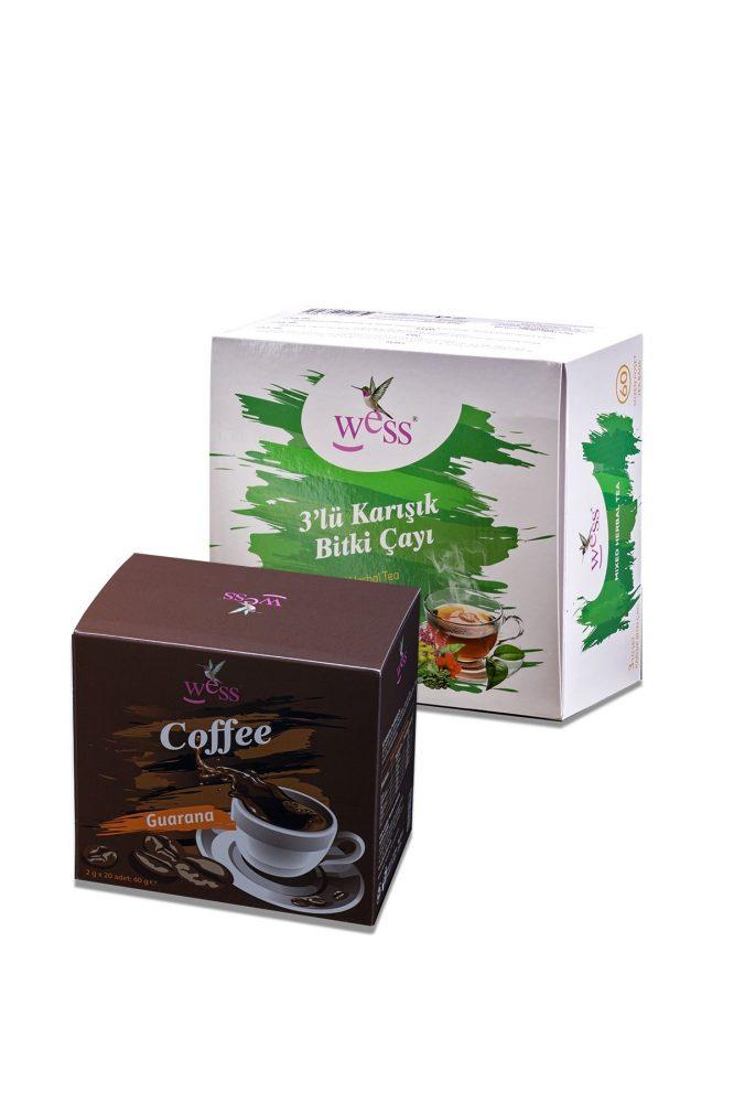 3 lu cay kahve 912 3'lü Çay + Kahve Dermologue