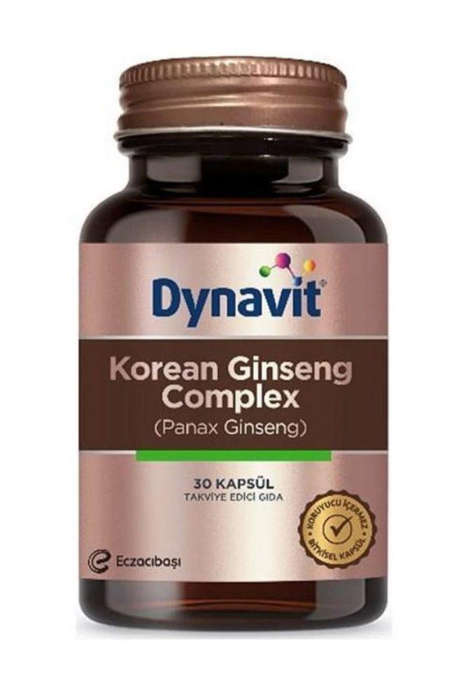 dynavit korean ginseng complex 30 kapsul 3369 Dynavit Korean Ginseng Complex 30 Kapsül Dermologue