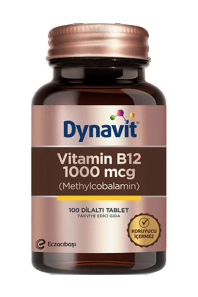 dynavit vitamin b12 1000 mcg 100 tablet 2159 Dynavit Vitamin B12 1000 mcg 100 Tablet Dermologue