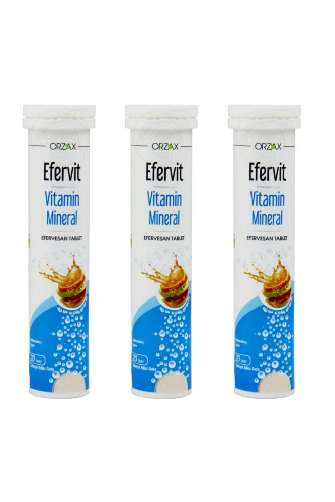 efervit vitamin c 1000 mg 20 efervesan tablet 3 lu set 3395 Efervit Vitamin C 1000 Mg 20 Efervesan Tablet 3'lü Set Dermologue